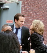 Will Arnett and Jessica Walter. Wikimedia Commons, 2011.