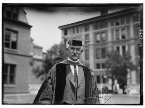 Professor Gorgas, Columbia. Library of Congress, c. 1913.